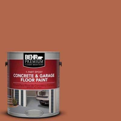 1 gal. #M200-7 Rusty Gate 1-Part Epoxy Concrete and Garage Floor Paint