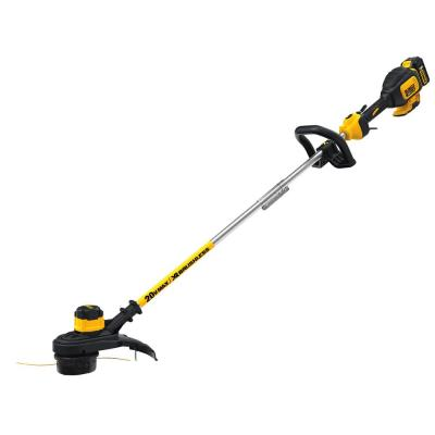 20-Volt MAX Lithium-Ion Cordless 13 in. Brushless Dual Line String Grass Trimmer w/ (1) 5.0Ah Battery and Charger
