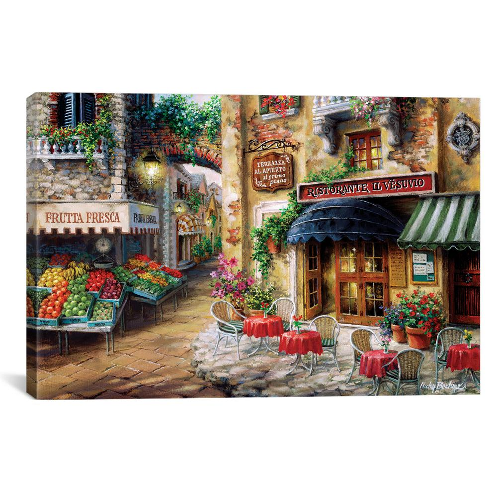 Buon Appetito By Nicky Boehme Canvas Wall Art