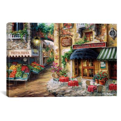 """Buon Appetito"" by Nicky Boehme Canvas Wall Art"