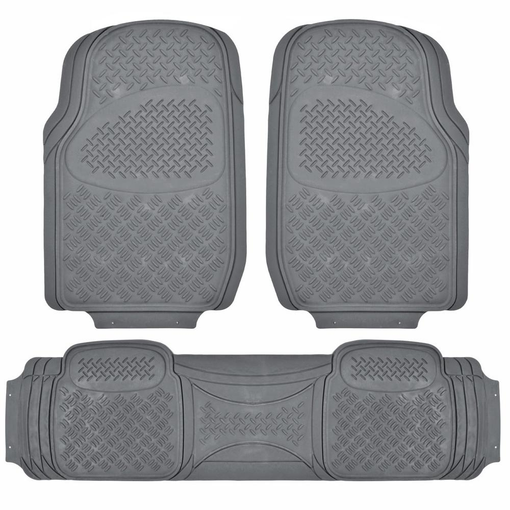 All Weather MT-713 Gray Heavy Duty 3-Piece Car or SUV or