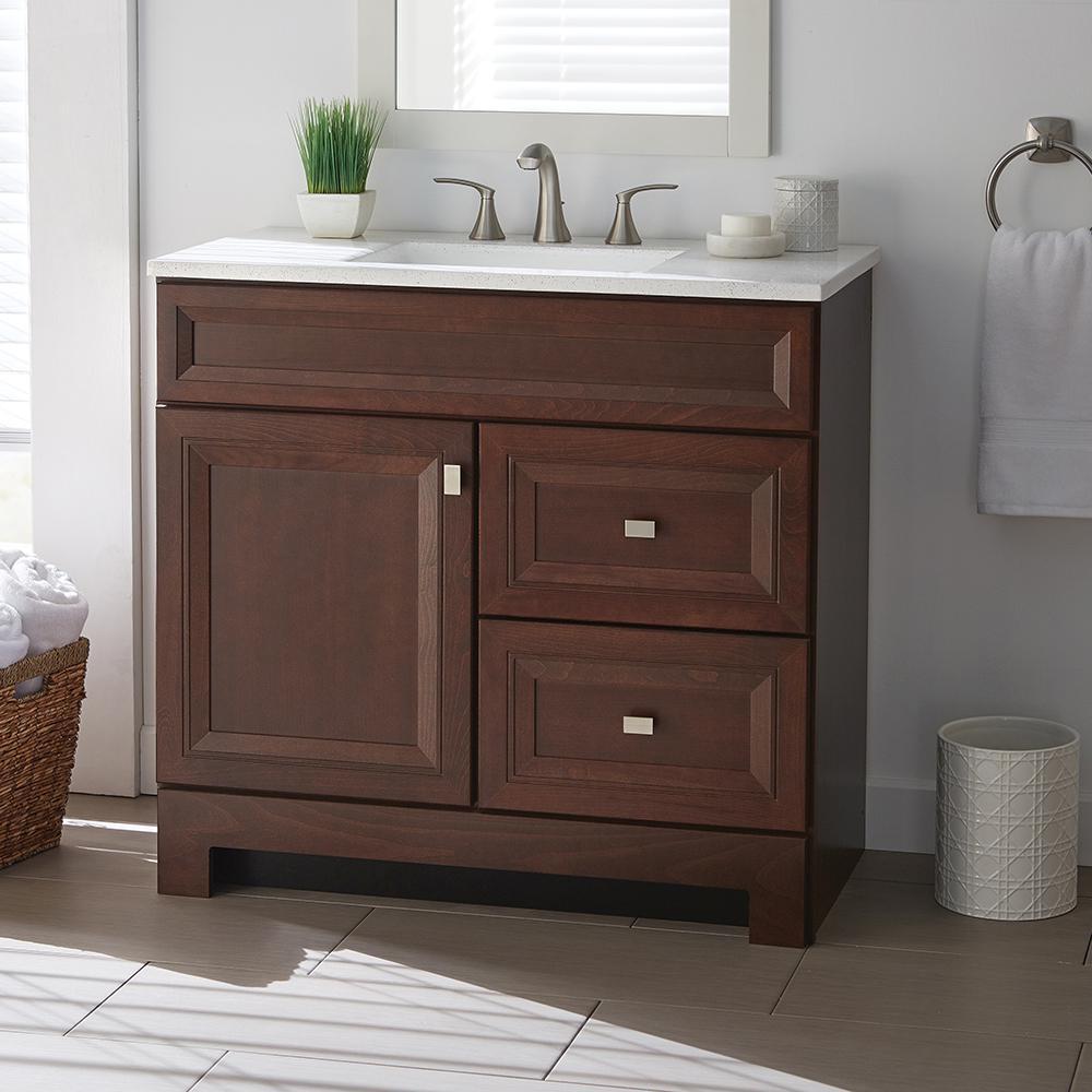 Home Decorators Collection Sedgewood 36 1 2 In W Bath Vanity In