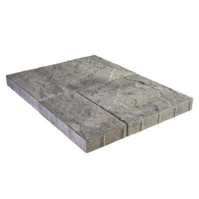 Panorama Supra 3-pc 15.75 in. x 15.75 in. x 2.25 in. Granite Blend Concrete Paver (60 Pcs. / 103 Sq. ft. / Pallet)