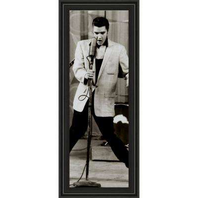 """18 in. x 42 in. """"The King"""" by Anonymous Framed Printed Wall Art"""