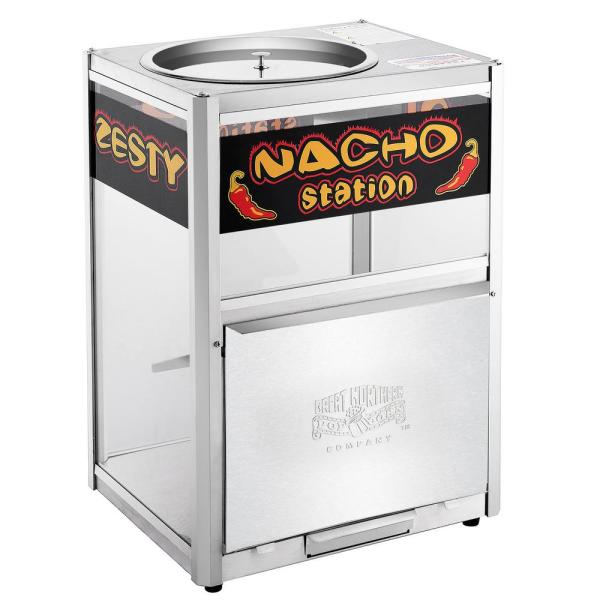 Great Northern 8 Oz Popcorn And Nacho Machine Commercial Grade Nacho Warmer Station 846176wfv The Home Depot