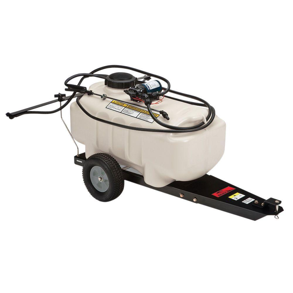 Brinly-Hardy 25 Gal. Tow-Behind Lawn and Garden Sprayer