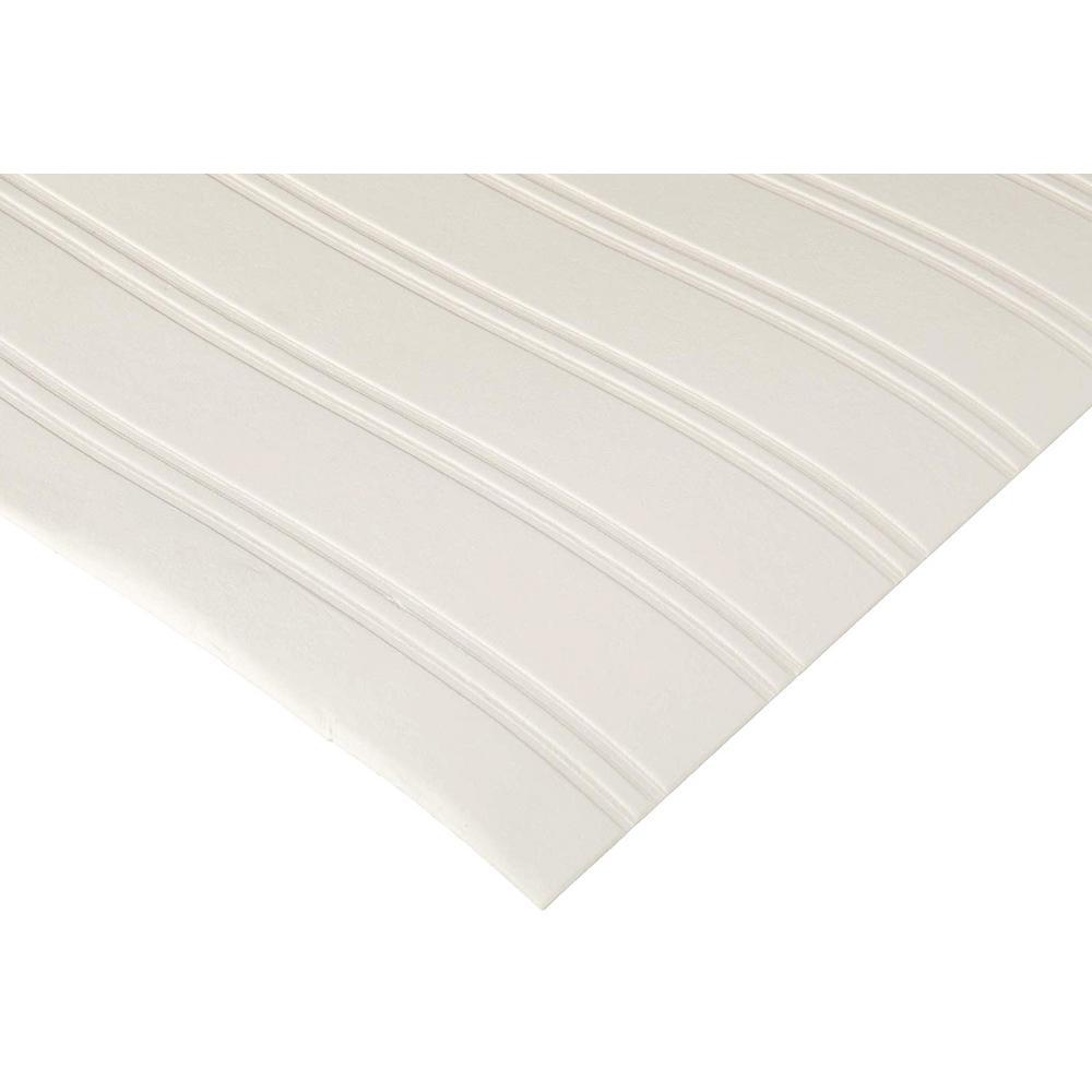 Graham & Brown White Beadboard Paintable Wallpaper 15274 - The Home Depot