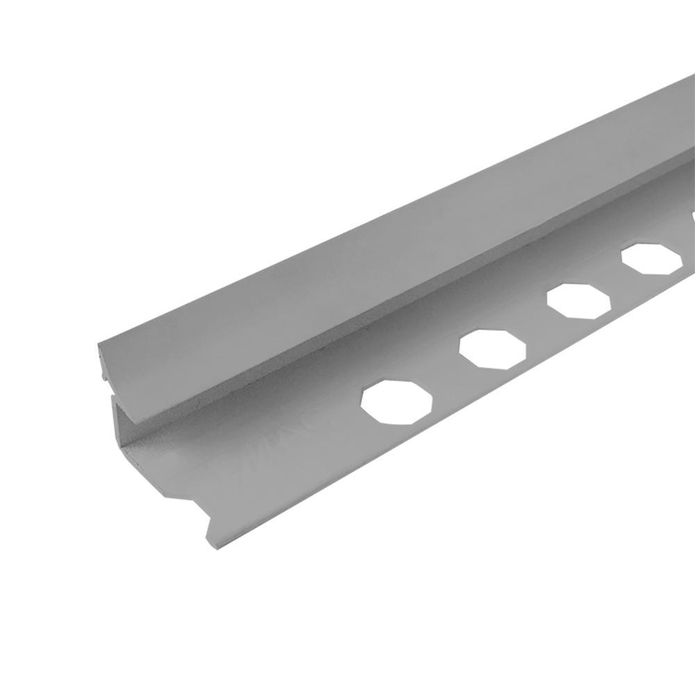 Novoescocia S Antib Metallic 1/2 in. x 98-1/2 in. Aluminum Tile Edging Trim