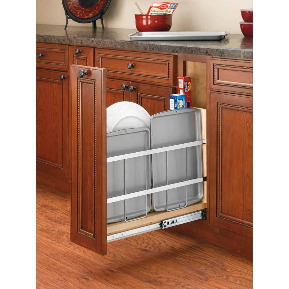 Slide Out Closet Shelves: Rev-A-Shelf 19.5 In. H X 5.25 In. W X 22.44 In. D Pull-Out