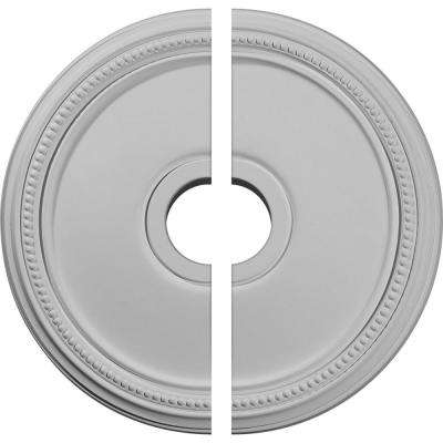 18 in. x 3-5/8 in. x 1-1/8 in. Diane Urethane Ceiling Medallion, 2-Piece (Fits Canopies up to 5-3/8 in.)