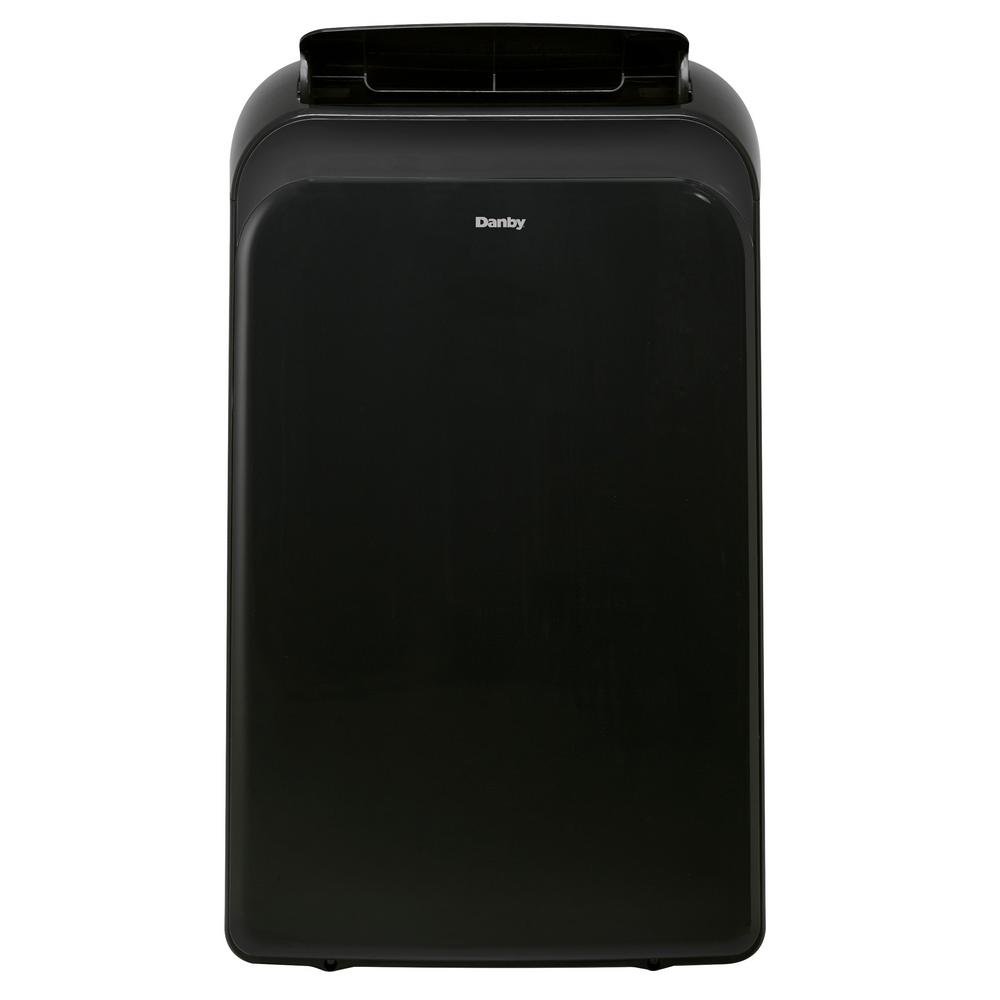 Danby 14,000 BTU (9,000 BTU, DOE) Portable Air Conditioner with Heat Pump and Dehumidifier in Black