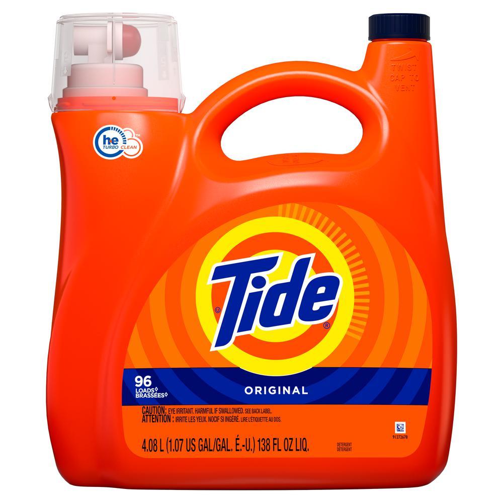 138 oz. Original Scent HE Liquid Laundry Detergent (96 Loads)