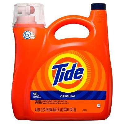 138 oz. Original Scent HE Liquid Laundry Detergent (96 Loads)