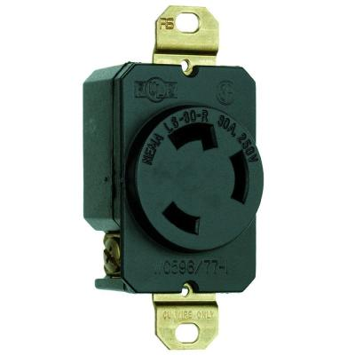 Pass & Seymour Turnlok 30 Amp 250-Volt NEMA L6-30R Locking Receptacle