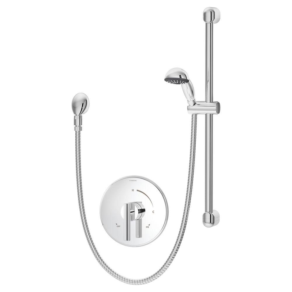 Symmons Dia 1-Handle Hand Shower Trim in Chrome (Valve Not Included)
