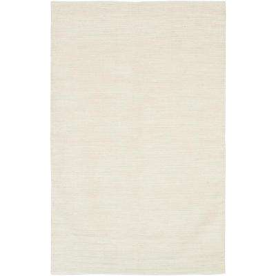 India Ivory 8 ft. x 11 ft. Indoor Area Rug