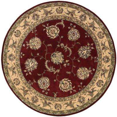 2000 Lacquer 6 ft. x 6 ft. Round Area Rug
