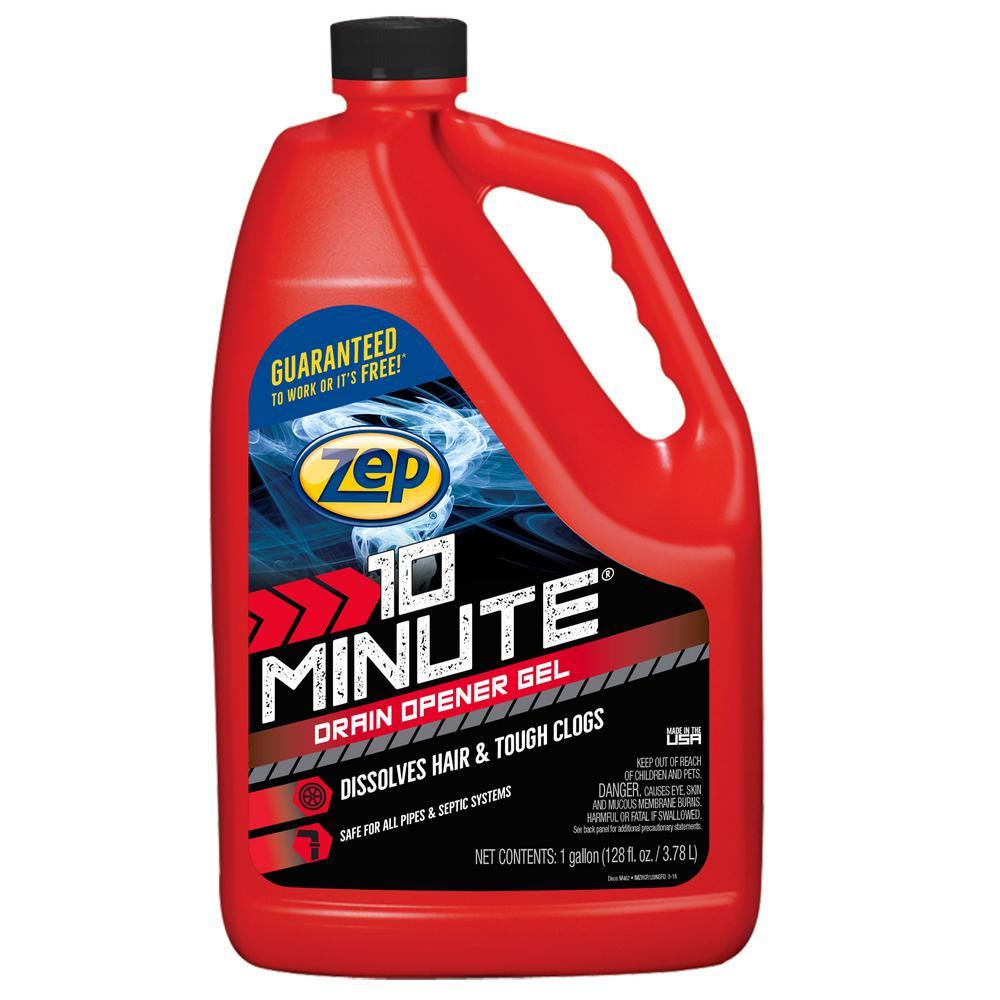 ZEP 1 Gallon 10 Minute Clog Remover Drain Opener Gel