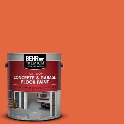 1 gal. #P190-6 Emergency Zone 1-Part Epoxy Concrete and Garage Floor Paint
