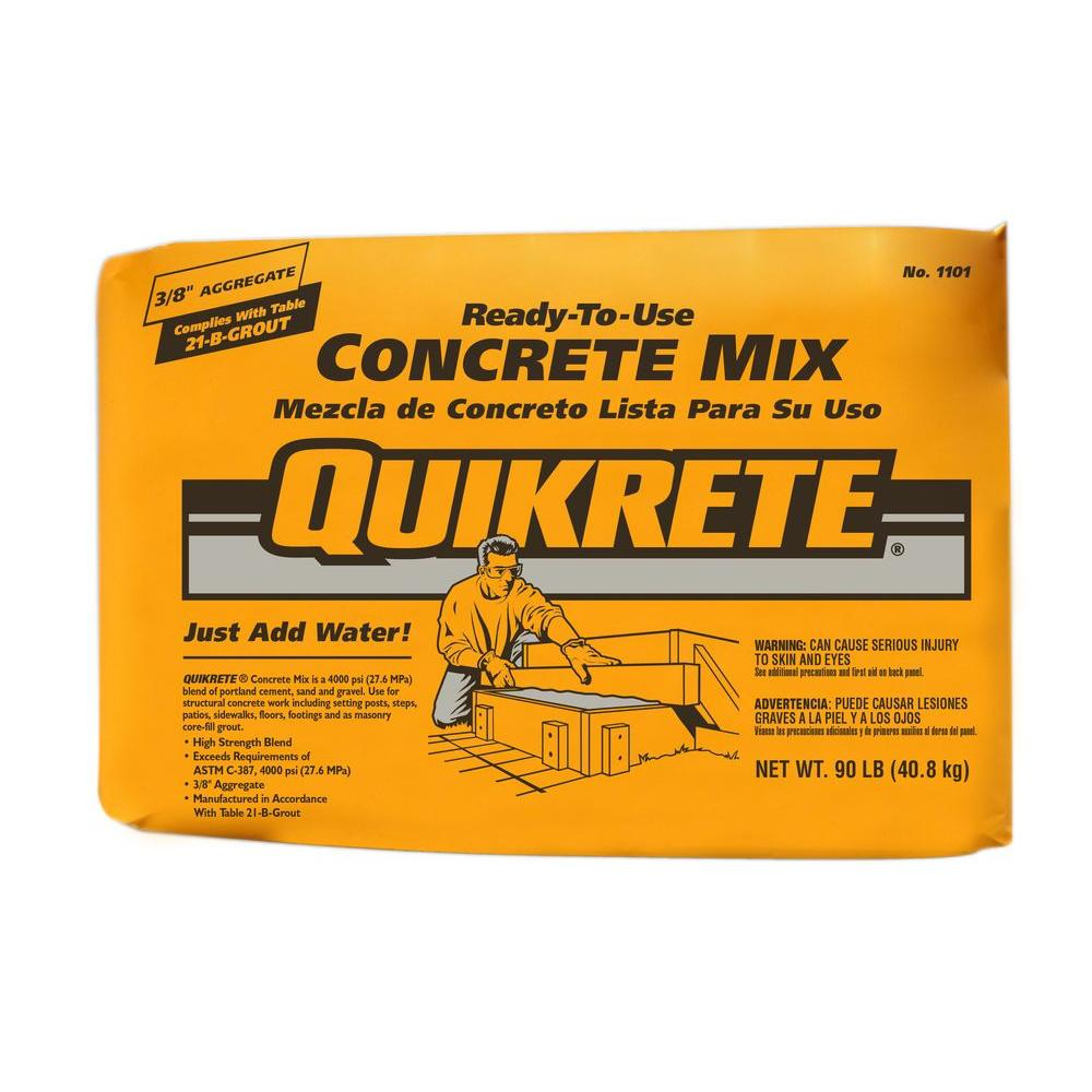 Quikrete 90 lb. Concrete Mix