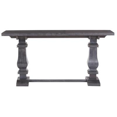 Aldridge Washed Black Console Table