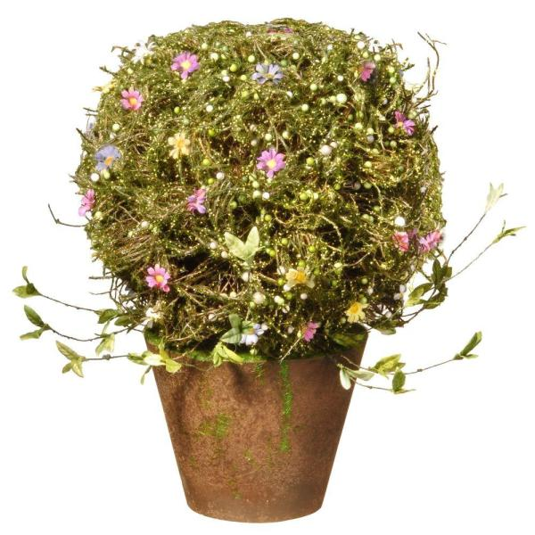 16 in. Topiary with Pot