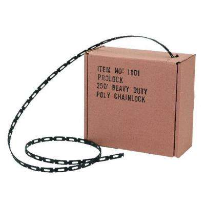 1/2 in. x 250 ft. Coil Chain Lock Tree Tie