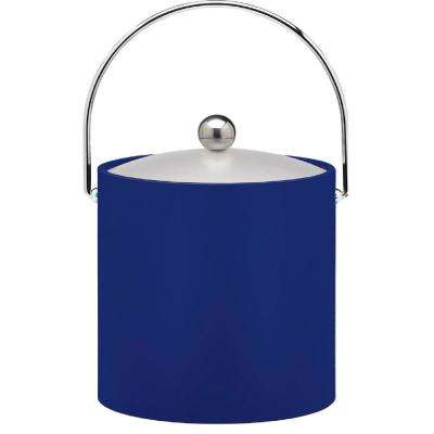 Bartenders Choice Fun Colors Royal Blue 3 Qt. Ice Bucket