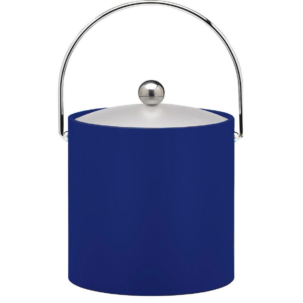 Kraftware Bartenders Choice Fun Colors Royal Blue 3 Qt. Ice Bucket