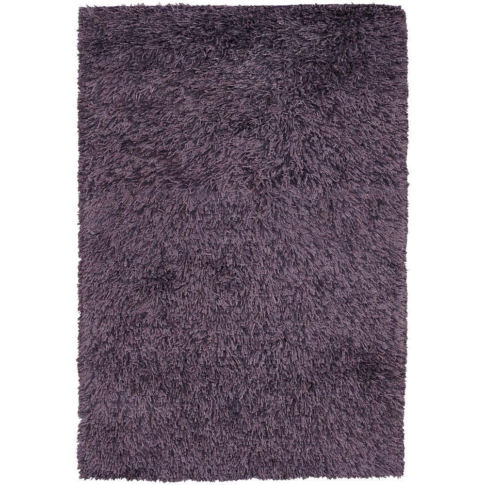 Chandra Breeze Purple 7 ft. 9 in. x 10 ft. 6 in. Indoor Area Rug