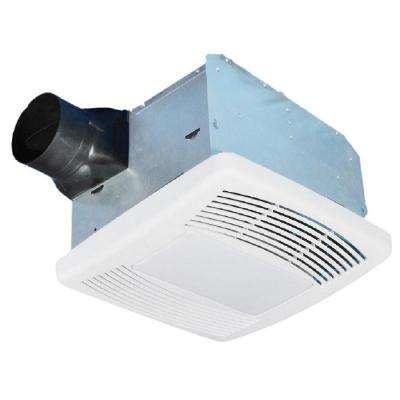 Ultra Quiet 80 CFM Ceiling Mount Exhaust Fan with Light and Night Light, ENERGY STAR