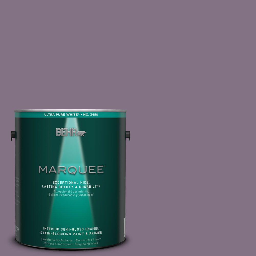 Behr Marquee 1 Gal Hdc Sp14 9 Decorative Iris Semi Gloss