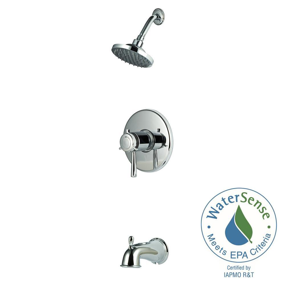 Pfister Thermostatic Shower Systems 1-Handle Shower Faucet Trim ...