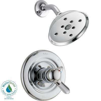 Innovations 1-Handle H2Okinetic Shower Only Faucet Trim Kit in Chrome (Valve Not Included)