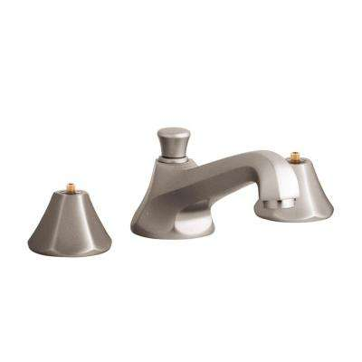 Somerset 8 in. Widespread 2-Handle Bathroom Faucet in Brushed Nickel InfinityFinish (Handles Sold Separately)