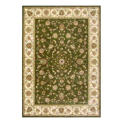 Kurdamir Rockland Green 7 ft. 10 in. x 10 ft. 10 in. Area Rug