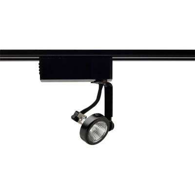 Trac-Lites Low-Voltage Black Gimbal-Ring Light