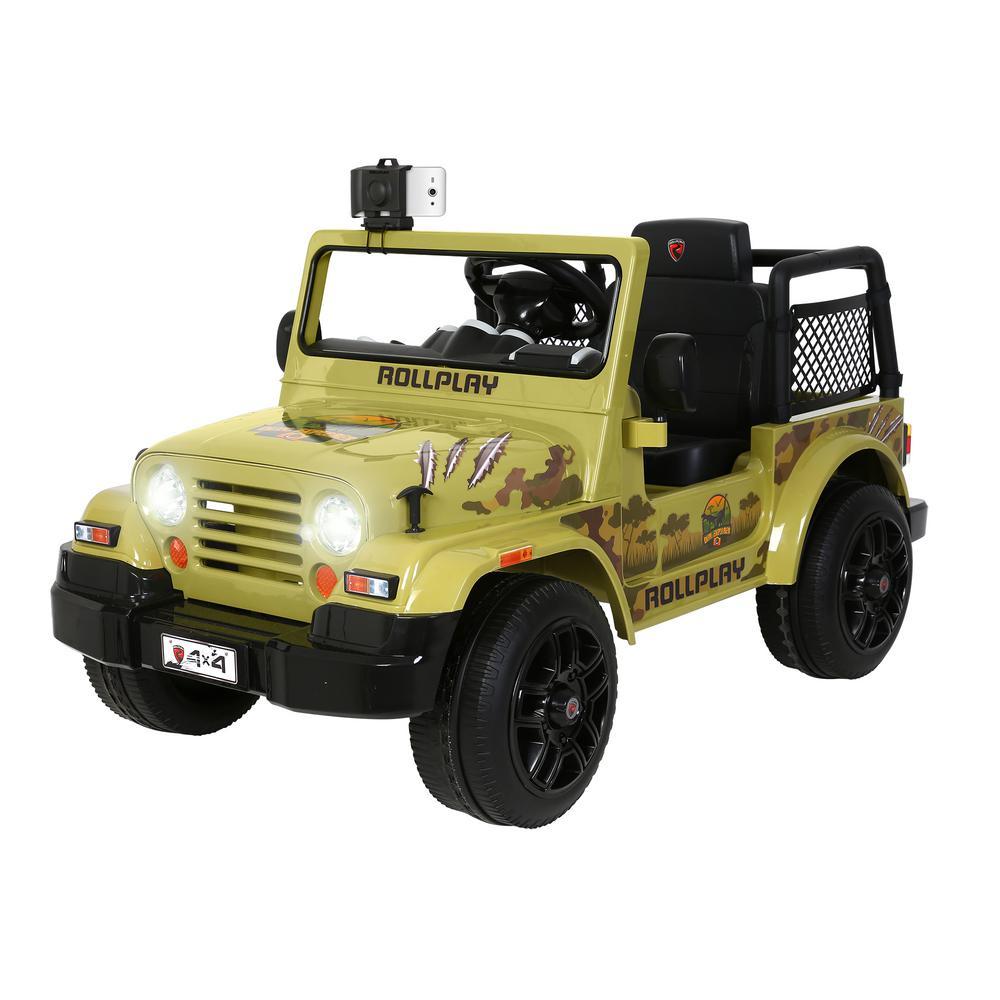 6-Volt Go Dino Car