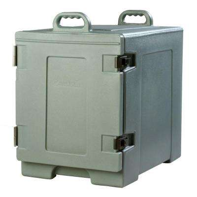 Cateraide End Loading Insulated Pan Carrier in Slate
