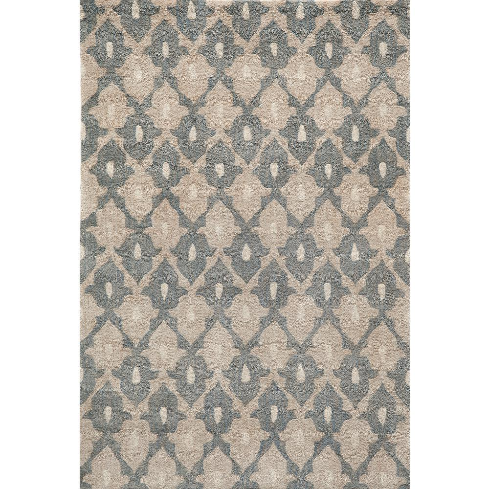 Rio Sand 8 ft. x 10 ft. Indoor Area Rug