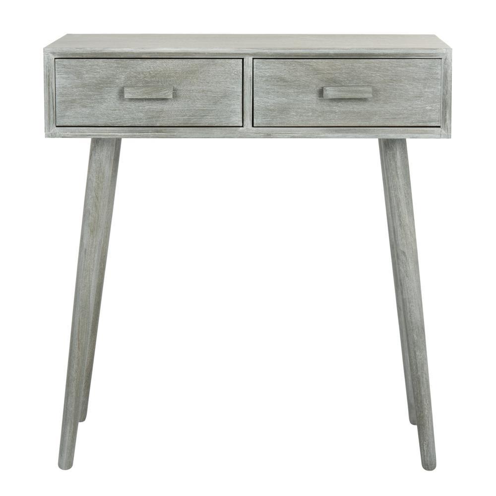 Wondrous Gray Console Tables Accent Tables The Home Depot Machost Co Dining Chair Design Ideas Machostcouk
