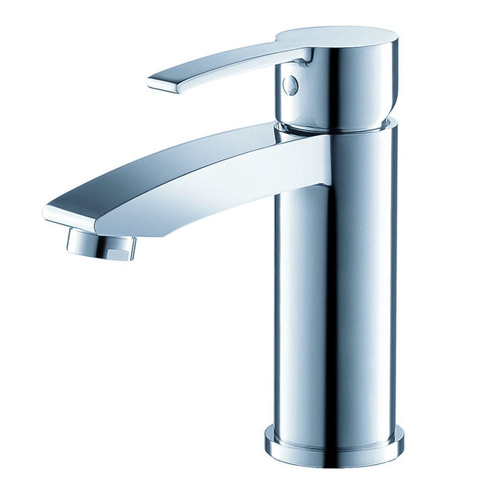 Livenza Single Hole 1-Handle Low-Arc Bathroom Faucet in Chrome