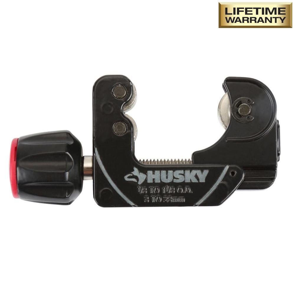 Husky 1-1/8 in. Quick-Release Mini Tube Cutter