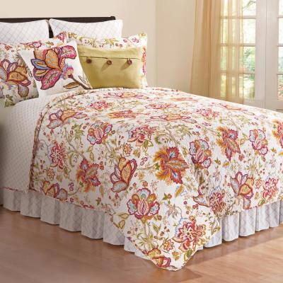 Bethany 3-Piece Pink King Quilt Set
