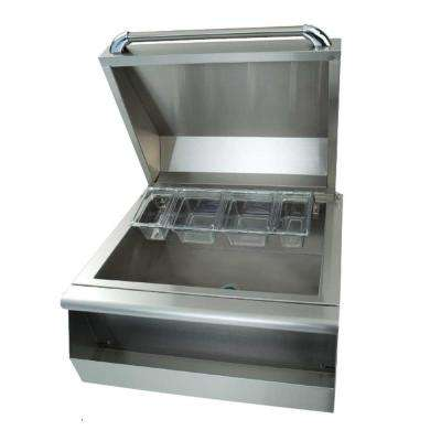Precision 26 in. Built-In Stainless Steel Cocktail Station