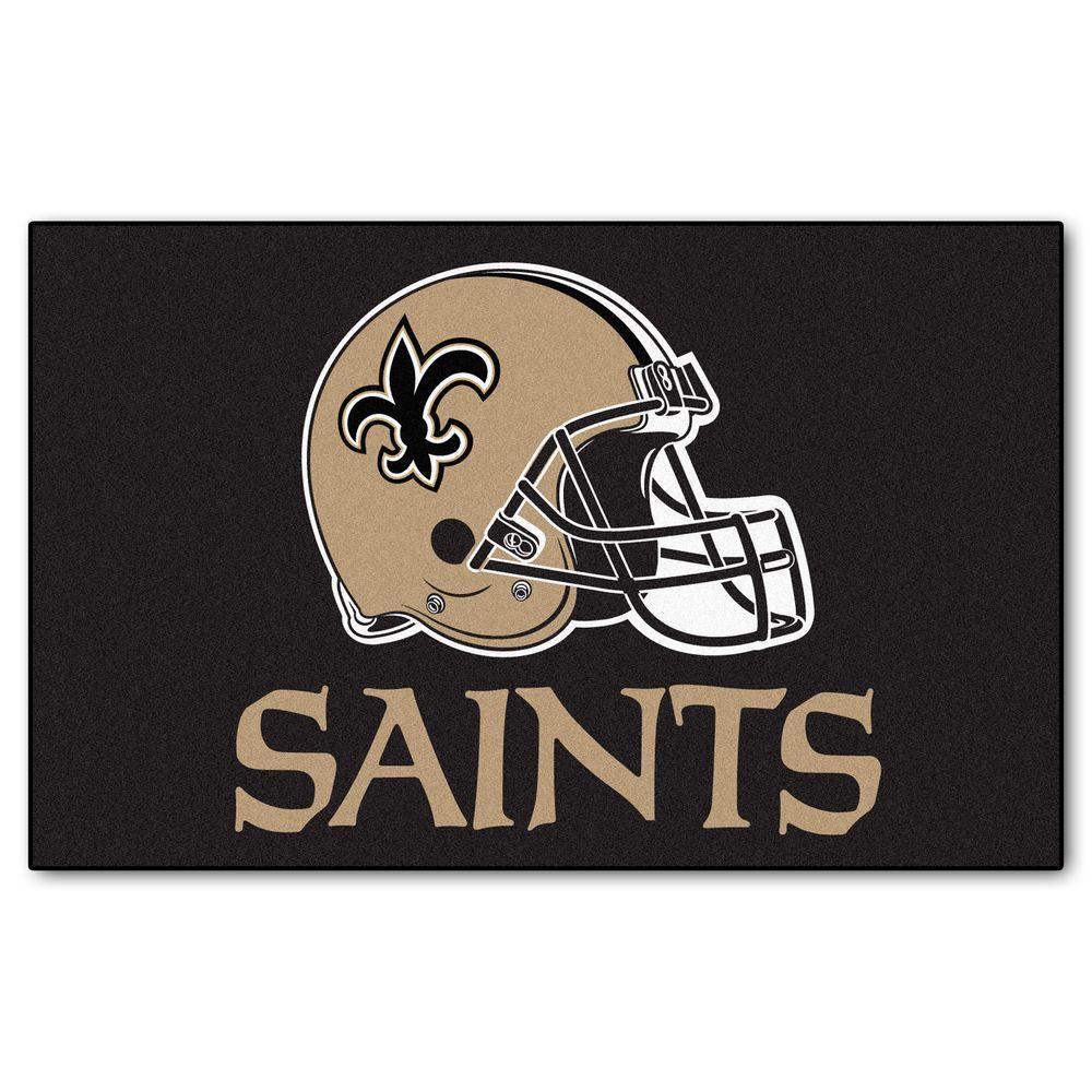 New Orleans Saints 5 ft. x 8 ft. Ulti-Mat