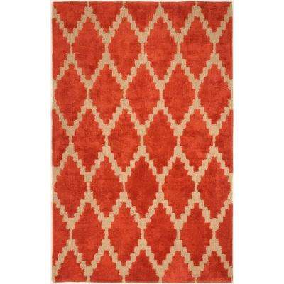 Tajine Rust 5 ft. x 8 ft. Area Rug