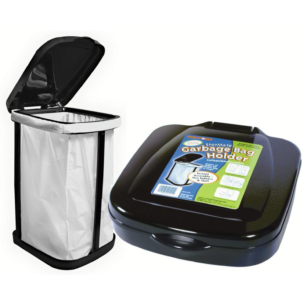 thetford stormate collapsible garbage bag holder 36773 the home depot. Black Bedroom Furniture Sets. Home Design Ideas