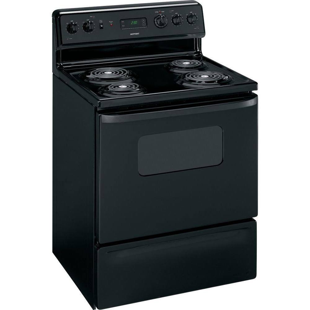 Hotpoint 5 cu. ft. Electric Range in Black