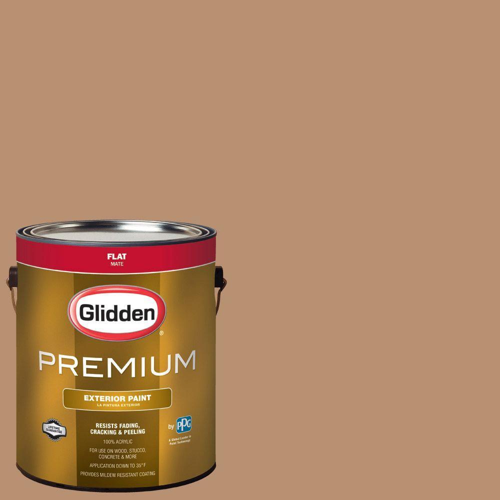 Hdgo38d Light Autumn Brown Flat Latex Exterior Paint